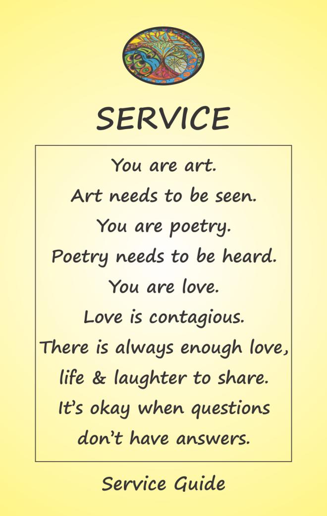 Service Guide Card 1B